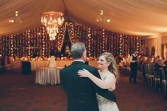 Father-Daughter dance at tented wedding reception at Diana at @Biltmore | Photo: @cheyenneschultz | Planning: @avleventco | Read more: http://ashevilleeventco.com/blog/shayna-ricks-biltmore-estate-wedding-at-diana/