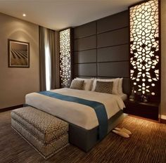 47 The Best Modern Bedroom Designs That Trend in This Year - Matchness.com Rustic Master Bedroom Design, Simple Bedroom Design, Luxury Bedroom Design, Modern Master Bedroom, Bedroom Bed Design, Bedroom Furniture Design, Stylish Bedroom, Contemporary Bedroom, Bedroom Decor
