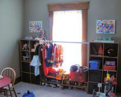 Playroom organization with ClosetMaid