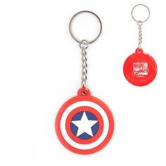 Porte-Clés Logo Captain America Marvel sur Logeekdesign.com