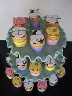 Raspberry Lemonade Spring Baby Cupcakes | Flickr - Photo Sharing!
