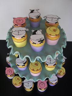 Raspberry Lemonade Spring Baby Cupcakes | Flickr - Photo Sharing!