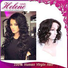 Brazilian Virgin Full Lace Human Hair Wigs Body Wave Glueless Full Lace Wigs Human Hair Lace Front Wig For Black Women free ship(China (Mainland))