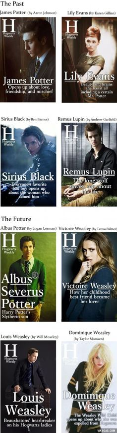 Harry Potter - The Past and the Future in Magazine Covers