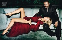 Kate Moss & George Michael