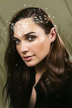 #Wonder #Woman #Diana #Prince #Gal #Gadot #Art by Yaşar Vurdem