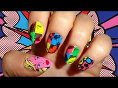 Pop art nails!!!