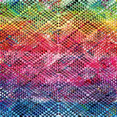 'Abstract Geometric Pattern' by Blake Robson on artflakes.com as poster or art print $14.38