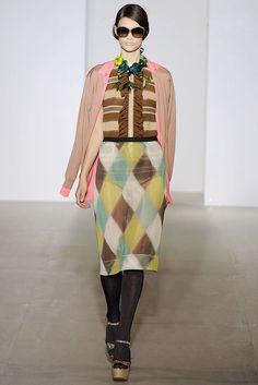 Marni Spring 2009 Ready-to-Wear Fashion Show - Tara Gill
