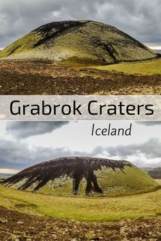 The Grabrok Volcanic Craters in Iceland are small but well preserved with… Iceland Road Trip, Iceland Travel Tips, Travel Guide, Island Travel, Places To Travel, Places To See, Travel Destinations, Volcano Iceland, Iceland Viking