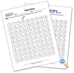 math worksheet : 1000 images about math on pinterest  maze maths and puzzles : Worksheet Works Maths