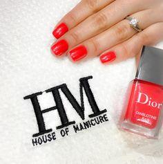 HM — J'adore Dior…. @dior   #nails #houseofmanicure...