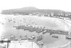 Le port de Sainte-Maxime en 1938 ! #saintemaxime #tourismepaca #visitvar #black #white #provence #harbor #port
