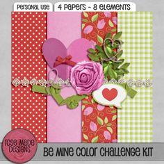 RMD | Be Mine Color Challenge Kit