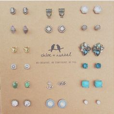 Now through Midnight February 28th and purchase of $75 or more gets a FREE Pair of Studs.  Contact me after placing your order!  www.chloeandisabel.com/boutique/jb