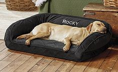 Orvis Memory Foam Bolster / Only Large Dogs Up To 60-90 L...
