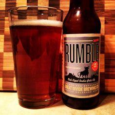 @GreatDivideBrew Rumble Oak Aged IPA