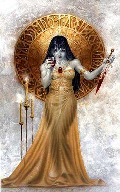Countess Bathory Elizabeth Bathory, Dark Creatures, Dark Gothic, Werewolf, Love Art, Skeletons, Vampires, Zombies, Mall