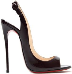 "Christian Louboutin ""Allenissima"" Slingback Pumps"