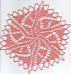 Ravelry: Graphica Doily pattern by Gisela Beyer