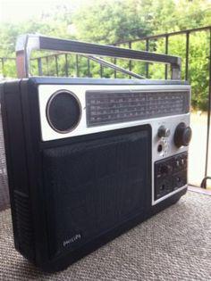 Radio Philips Vintage . Para Restaurar.