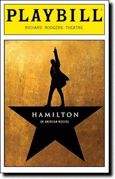 Brand New Playbill from Hamilton on broadway at the Richard Rodgers Theatre starring Lin-Manuel Miranda Leslie Odom, Jr. Jonathan Groff Renee Elise Goldsberry Christopher Jackson Music and Lyrics by Lin-Manuel Miranda, 2016 Amazon Top Rated Playbills  #Collectibles