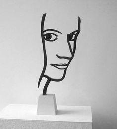 Beeld van kunstenaar Jeroen Henneman