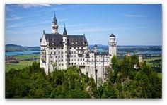New Swanstone Castle Germany. Neuschwanstein Castle