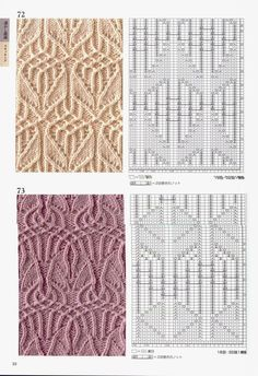 260 Knitting Pattern Book by Hitomi Shida 2016 — Yandex. Knitted pattern no. Lace Knitting Stitches, Cable Knitting Patterns, Knitting Books, Knitting Charts, Knitting Designs, Knit Patterns, Knitting Projects, Baby Knitting, Stitch Patterns