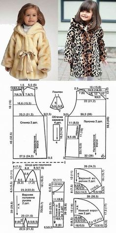 Amazing Sewing Patterns Clone Your Clothes Ideas. Enchanting Sewing Patterns Clone Your Clothes Ideas. Sewing Baby Clothes, Kids Clothes Patterns, Baby Dress Patterns, Kids Patterns, Coat Patterns, Baby Sewing, Clothing Patterns, Diy Clothes, Diy Vetement