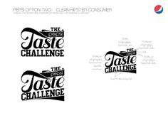 Pepsi Taste challenge 3D typography by Neil Duerden, via Behance