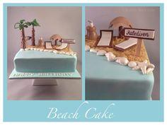 Hallo meine Lieben, heute möchte ich euch meine neuste Torte zeigen die das Thema Strand und Urlaub umfasst. Unter der Torte verbirgt sich ein Marmorkuchen. Für den Sand habe ich einfach Butterkeks…