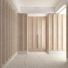 We're kicking off construction this week on a sf Park Avenue apartment project. Here in the gallery, ultra deep coffered paneling in… Door Design, Wall Design, Interior Walls, Interior Design, Joinery Details, Apartment Projects, Wall Cladding, Floor Patterns, Commercial Design