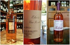 Some interesting Piemontese rosés: Paruss, VDT Rosato Elatis, Sclint