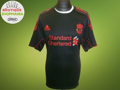 LIVERPOOL Training 2010-2011 (XL) Adidas FOOTBALL SHIRT Jersey Maglia Camiseta #Adidas #Liverpool