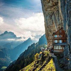 Asher Cliffs, Switzerland