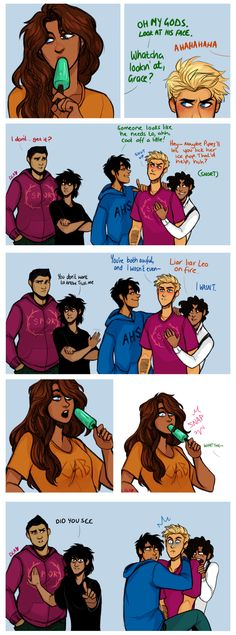 Hahahaha Art by: Cindersart.tumblr.com omg this is not percy jackson appropriate lol