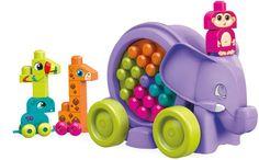 Mega Bloks Elephant Parade 25-piece Building Set - Purple