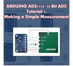 Introducing A Low Cost and Precise Arduino Measurement The ADS1115 is a 16 bit Analog Digital Converter that can greatly improve your Arduino resolution and measurement accuracy.   It has four inpu…