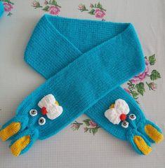 TAVŞAN FİGÜRLÜ ÇOCUK ATKISI TARİFİ Knitting For Kids, Crochet For Kids, Baby Knitting, Crochet Scarves, Baby Kids, Diy And Crafts, Gloves, Socks, How To Make