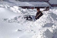 Blizzard of '77  Took back roads to get back to Bowling Green State University 'cause all other roads were closed