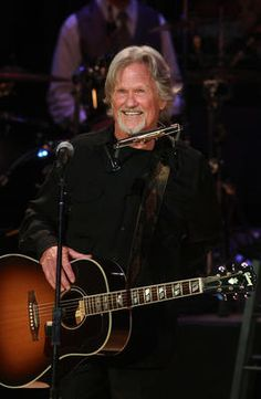 Kris Kristofferson ~ ~ An amazing songwriter. A number of mom's favorites whos birthday is also today. Meryl Streep ~ Cyndi Lauper ~ Lindsay Wagner ~ Freddie Prinze ~ Todd Rungren ~ Ralph Waite ~ Ed Bradley and senator Elizabeth Warren. Country Musicians, Country Music Singers, Country Artists, Ralph Waite, My Music, Reggae Music, Gospel Music, Live Music, Freddie Prinze