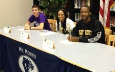 Mt. Morris sends three more athletes to college, matches largest class in five years
