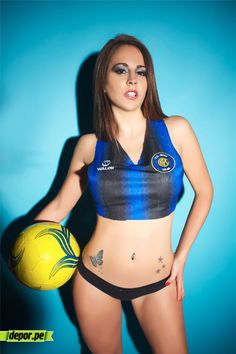 Sexy Inter Milan girl