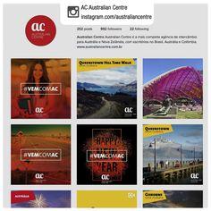Produção de conteúdo e gerenciamento de rede social   Cliente: AC Australian Centre   Rede social: instagram.com/australiancentre   Exemplos de conteúdos produzidos: 1. instagram.com/p/BOXEmAfD6xC/   2. instagram.com/p/BO0KAhthNPn/