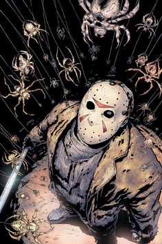 Friday the 13th Cover by ~PeterGuzman on deviantART (Jason Vorhees)