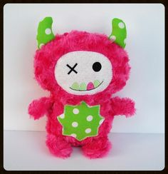 Hey, I found this really awesome Etsy listing at https://www.etsy.com/listing/204272411/monster-hot-pink