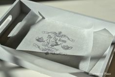 Wax paper transfer http://beachwoodplace.blogspot.com/2014/01/how-to-make-your-own-transfer.html