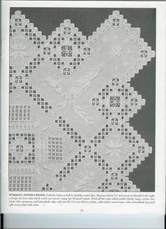 Resultado de imagem para white on white norwegian embroidery Embroidery Patterns Free, Learn Embroidery, White Embroidery, Embroidery Designs, Hardanger Embroidery, Cross Stitch Embroidery, Drawn Thread, Brazilian Embroidery, Bargello