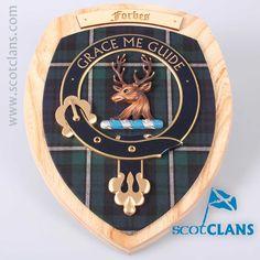 Forbes Clan Crest Wa